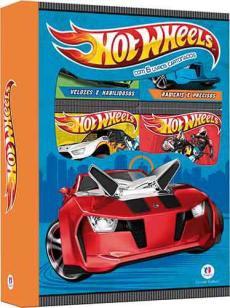 Hot Wheels - Box 6 minilivros - Com 6 livros cartonados