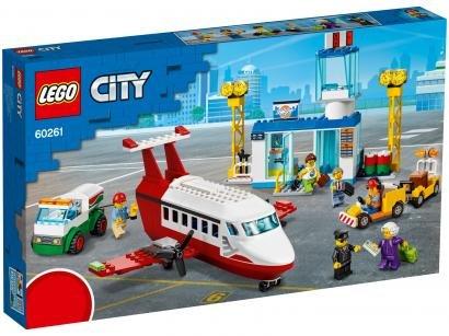 LEGO City Aeroporto Central 286 Peças - 60261
