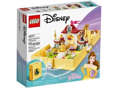 LEGO Disney Princess Aventuras do Livro de Contos - da Bela 111 Peças 43177