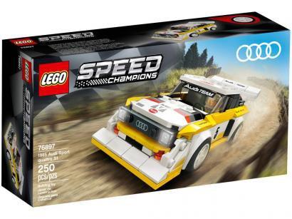 LEGO Speed Champions Audi Sport Quattro S1 - 250 Peças 76897
