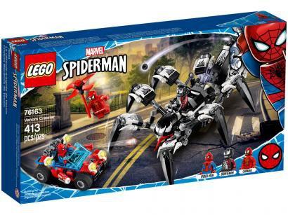 LEGO Super Heroes Venom Aranha 413 Peças - 76163