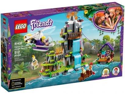 LEGO Friends Resgate de Alpaca na Selva - da Montanha 512 Peças 41432