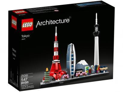 LEGO Architecture Tóquio 547 Peças - 21051