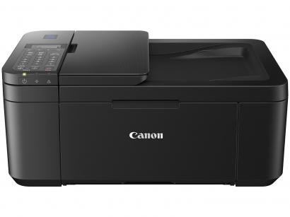 Impressora Multifuncional Canon PIXMA E-4210 - Jato de Tinta Colorida Wi-Fi USB