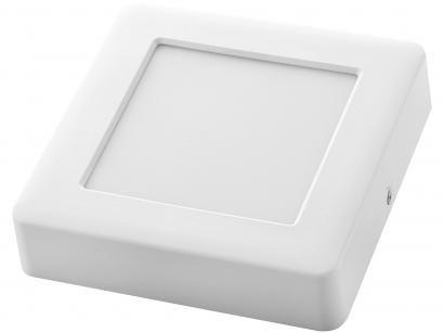 Plafon LED Quadrado Branco 12W 1 Lâmpada - Tramontina 58026301