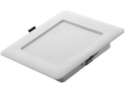 Plafon LED Quadrado Branco 6W 1 Lâmpada - Tramontina 58026202