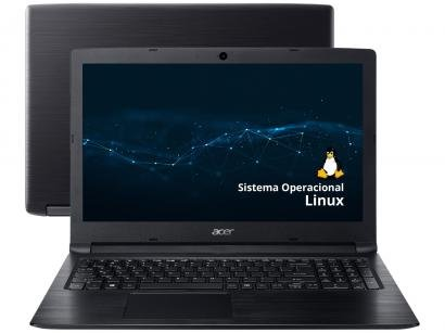 "Notebook Acer Aspire 3 A315-33-C58D - Intel Dual Core 4GB 500GB 15,6"" Linux"