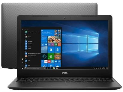 "Notebook Dell Inspiron i15-3583-A30P Intel Core i7 - 8GB 2TB 15,6"" HD Placa de..."