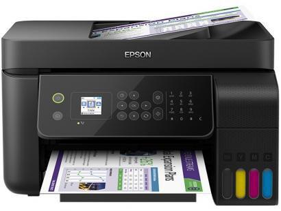 Impressora Multifuncional Epson EcoTank L5190 - Tanque de Tinta Colorido Wi-Fi...
