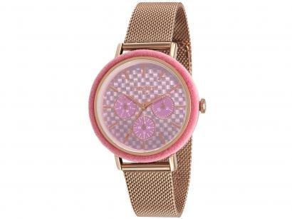Relógio Feminino Mondaine Analógico - 89011LPMVRE4 Rosé Gold