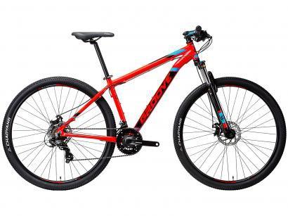 """Bicicleta Aro 29"""" Mountain Bike Groove Zouk - Freio a Disco 21 Marchas Câmbio..."""
