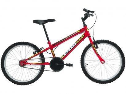 Bicicleta Aro 20 Mountain Bike Polimet 7121 - Freio V-Brake Monomarcha