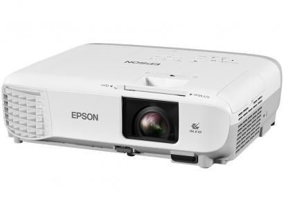 Projetor Epson Powerlite W39 WXGA 1280x800 - 3500 Lumens 3LCD HDMI USB