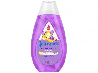 Shampoo Infantil Johnsons Baby - Força Vitaminada 200ml