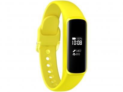 Smartband Samsung Galaxy Fit e - Amarela