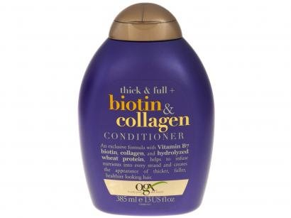 Condicionador Ogx Biotin & Collagen - 385ml