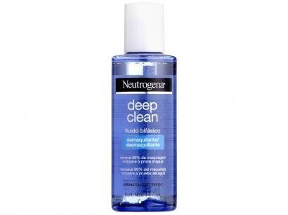 Demaquilante Líquido Bifásico Neutrogena - Deep Clean 117ml