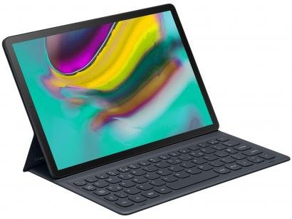 Capa para Tablet Tab S5e com Teclado Preta - Capa Teclado Samsung