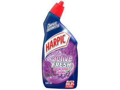 Limpador Desinfetante Sanitário Harpic - Active Fresh 500ml