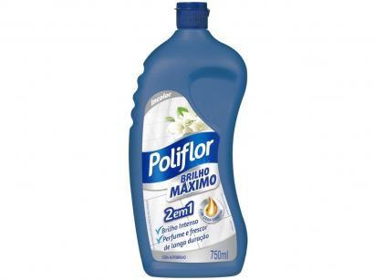 Cera Líquida Poliflor 2 em 1 Brilho Máximo - 750ml