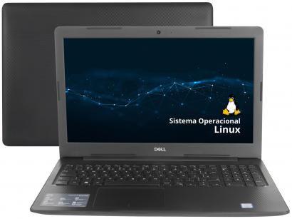 """Notebook Dell Inspiron i15-3584-D10P Intel Core i3 - 4GB 1TB 15,6"""" Ubuntu Linux"""