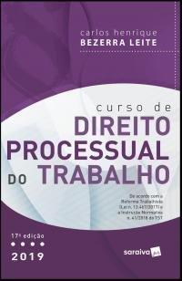 Curso de direito processual do trabalho - 17ª ediç -