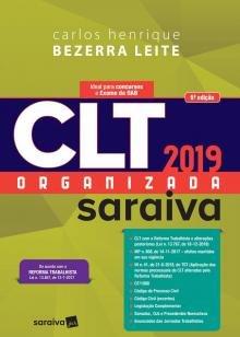 CLT organizada saraiva - 6ª edição de 2019