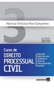 Novo curso de Direito Processual Civil - 12ª ediçã - Execução, processos nos...