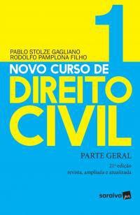 Novo curso de direito civil : Parte geral - 21ª ed -