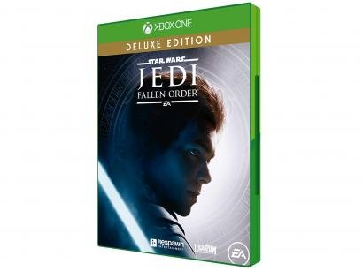 Star Wars Jedi Fallen Order Deluxe para Xbox One - Respawn Entertainment Edição Deluxe