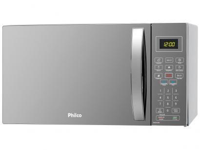 Micro-ondas Philco 26L PMO26ES - Prata