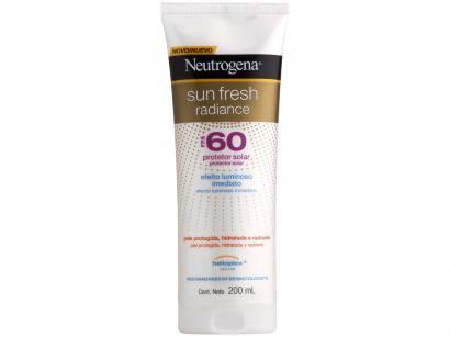 Protetor Solar Corporal Neutrogena FPS 60 - Sun Fresh Radiance 200ml