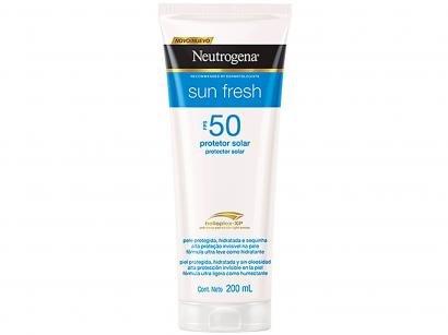 Protetor Solar Corporal Neutrogena FPS 50 - Sun Fresh 200ml