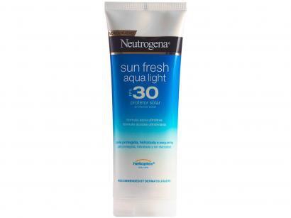 Protetor Solar Corporal Neutrogena FPS 30 - Sun Fresh Aqua Light 200ml