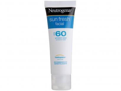 Protetor Solar Facial Neutrogena FPS 60 - Sun Fresh Facial 50ml
