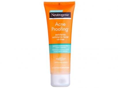 Gel Esfoliante Facial Neutrogena Acne Proofing - 100g
