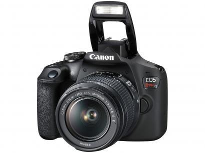 Câmera Digital Canon DSLR Semiprofissional 24.1MP - EOS Rebel T7 Wi-Fi