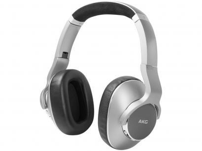 Headphone Bluetooth AKG N700 com Microfone - Prata