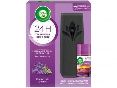 Aromatizador de Ambiente Aerossol Air Wick - Freshmatic Lavanda 250ml