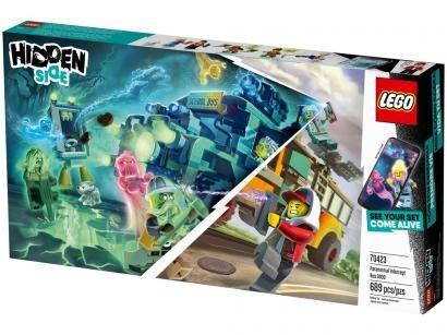 LEGO Hidden Side Ônibus Interceptor - Paranormal 3000 689 Peças 70423