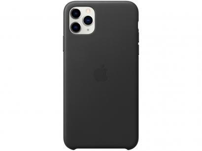 Capinha de Celular Couro para iPhone 11 Pro Max - Apple