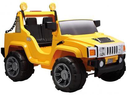 Mini Jipe Elétrico Infantil Bel Brink Off-Road - com Controle Remoto 2 Marchas...