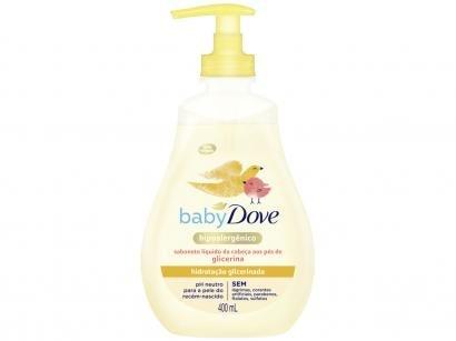 Sabonete Líquido Infantil Dove Baby - Hidratação Glicerinada 400ml