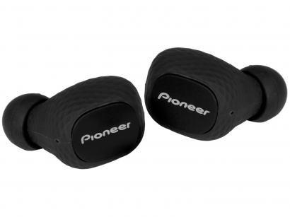 Fone de Ouvido Bluetooth Pioneer SE-C8TW-B - Intra-auricular com Microfone Resistente à Água