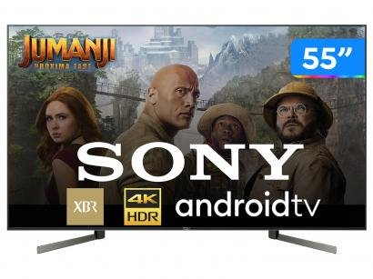 """Smart TV 4K LED 55"""" Sony XBR-55X955G Android Wi-Fi - HDR Inteligência..."""