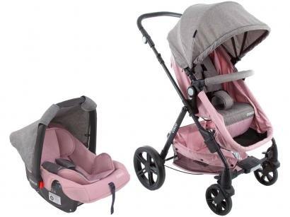 Carrinho de Bebê com Bebê Conforto Cosco - Poppy 0 a 15kg