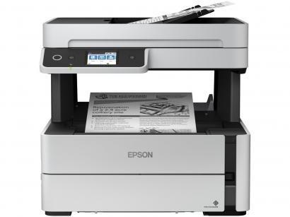 Impressora Multifuncional Epson EcoTank M3170 - Jato de Tinta Monocromática...