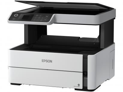 Impressora Multifuncional Epson EcoTank M2140 - Tanque de Tinta Preto e Branco...