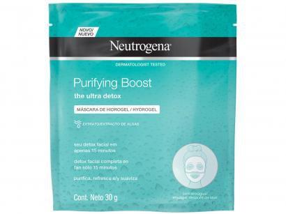 Máscara Facial Neutrogena Purifying Boost - 30g