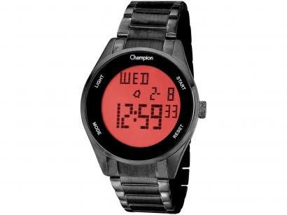 Relógio Unissex Champion Digital - CH40231D Preto